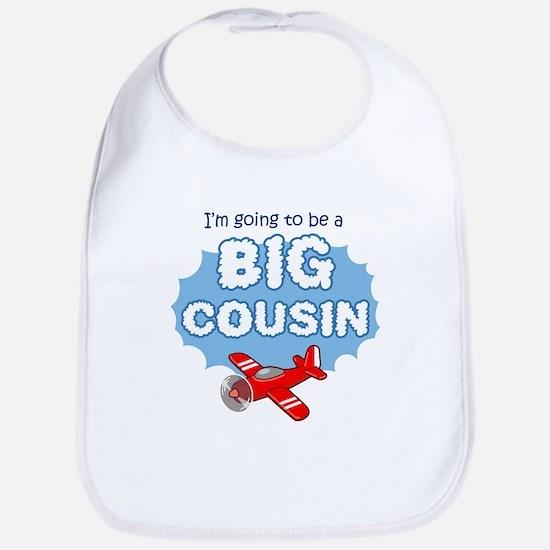 Big Cousin to be - Airplane Bib