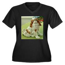Christmas King Charles Spaniel Plus Size T-Shirt