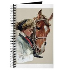 Lady with Horse Journal