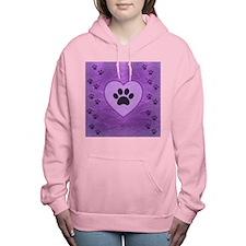 Heart -n- Paw Women's Hooded Sweatshirt