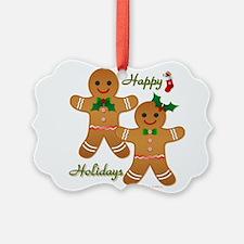 Gingerbread Man - Boy Girl Ornament