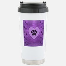 Heart -n- Paw Stainless Steel Travel Mug