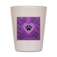 Heart -n- Paw Shot Glass