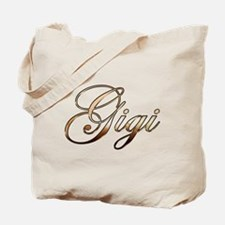 Gold Gigi Tote Bag