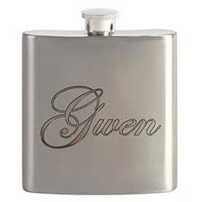 Gold Gwen Flask