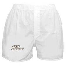 Gold Rene Boxer Shorts