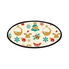 Christmas pattern Patches
