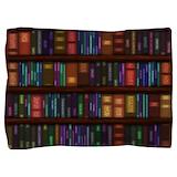 Old bookshelves Pillow Sham