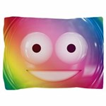 Candy Smiley - Rainbow Pillow Sham