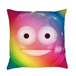 Candy Smiley - Rainbow Master Pillow
