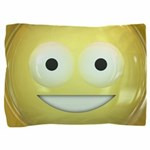 Candy Smiley - Yellow Pillow Sham