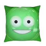 Candy Smiley - Green Master Pillow
