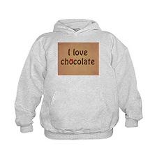 I LOVE CHOCOLATE Hoodie