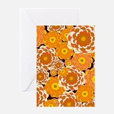 Fall Fantasy Flowers Greeting Cards