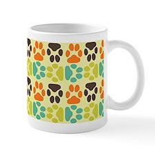 Whimsical Cute Paws Pattern Mug
