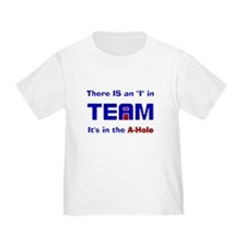 """I"" in Team T-Shirt"