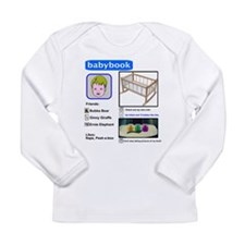 Babybook Long Sleeve Infant T-Shirt