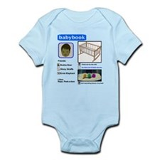 Babybook Infant Bodysuit