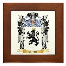 Gerdes Framed Tile
