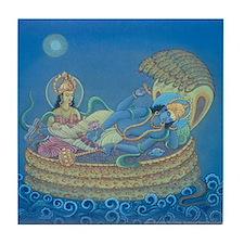 Vishnu & Lakshmi Tile