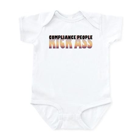 Compliance People Kick Ass Infant Bodysuit
