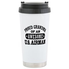 Cute Airman Travel Mug