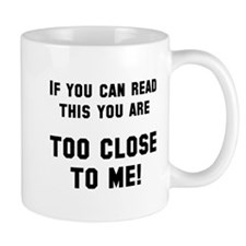If you can read this Mug