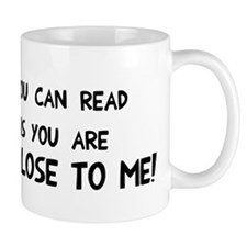 If you can read this Small Mug