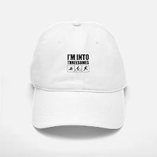 threesome Baseball Hat