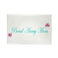 Cute Proud army mom Rectangle Magnet