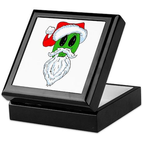 Christmas Alien Keepsake Box