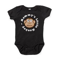 Mommys Little Monkey Baby Bodysuit