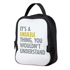 Its A Ukulele Thing Neoprene Lunch Bag