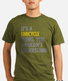 Its A Unicycle Thing Organic Men's T-Shirt (dark)