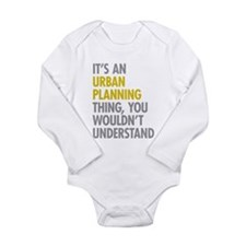 Urban Designer Baby Clothes Urban Planning Thing Long