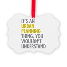 Urban Planning Thing Ornament