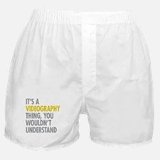 Its A Videography Thing Boxer Shorts