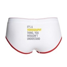 Its A Videography Thing Women's Boy Brief