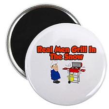 Unique Grill dad Magnet