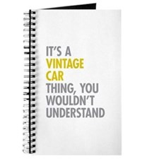 Its A Vintage Car Thing Journal