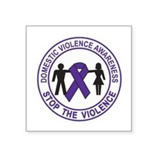 domestic violence Sticker