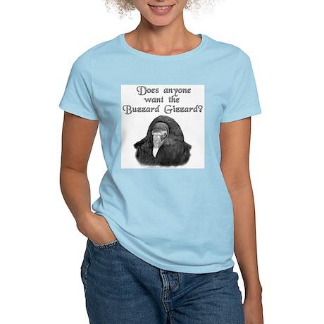 Want the Buzzard Gizzard? Women's Pink T-Shirt