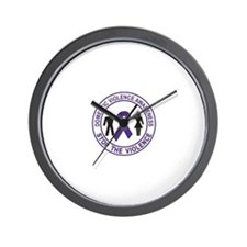 domestic violence Wall Clock