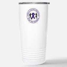 domestic violence Stainless Steel Travel Mug