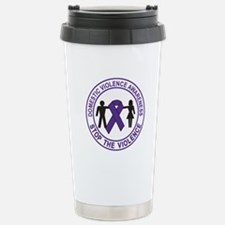 domestic violence Travel Mug
