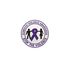 domestic violence Mini Button