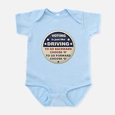 Voting Like Driving Infant Bodysuit