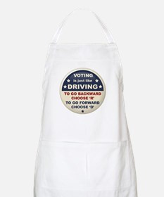 Voting Like Driving Apron