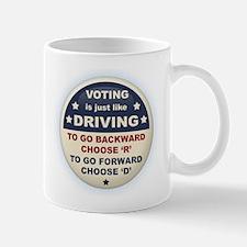 Voting Like Driving Mug