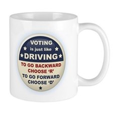 Voting Like Driving Mug